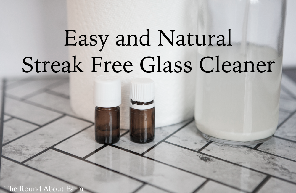 Easy Natural Streak Free Glass Cleaner